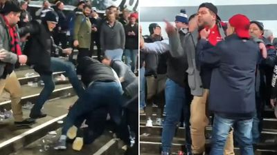 Footy fan hands himself in to police after sickening fight