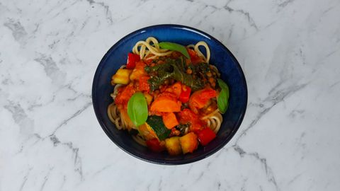 A hearty, healthy pasta dish for winter