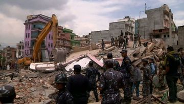 Nepal has been devastated by the quake. (AAP)