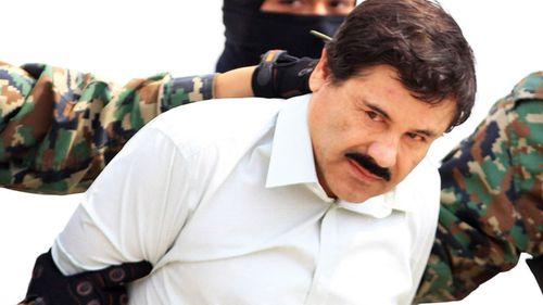 "Mexican cartel leader Joaquin ""El Chapo"" Guzman."