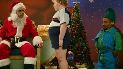 Bad Santa with older child