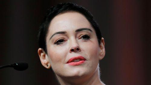 Rose McGowan has spoken out after making assault allegations against Harvey Weinstein. (AP)