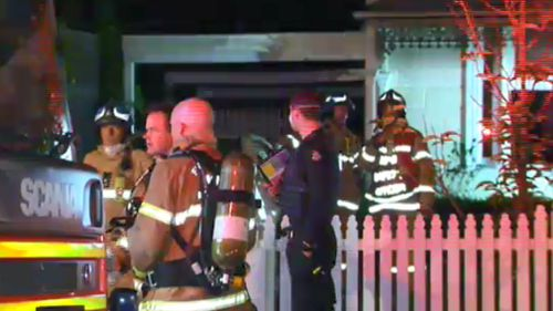 Authorities believe the deceased man may have been smoking when the fire broke out. (9NEWS)