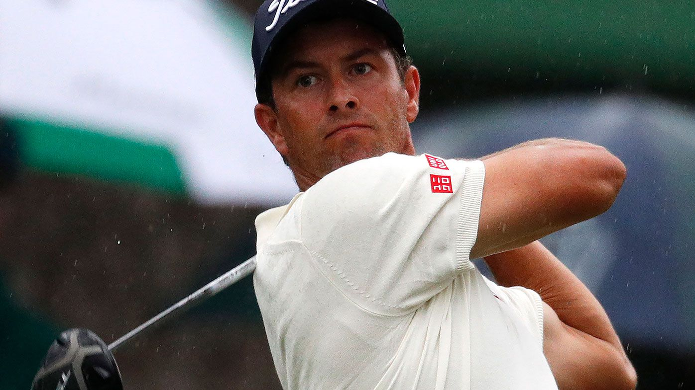 Adam Scott and Jason Day share lead of the Masters as Tiger looms large