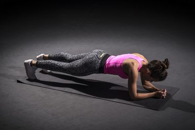 <strong>Plank (30 seconds +)</strong>