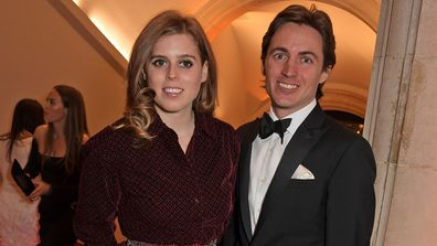 Princess Beatrice with her boyfriend Edoardo Mapelli Mozzi.