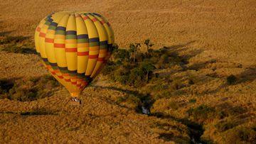 Balloon safari Masai Mara