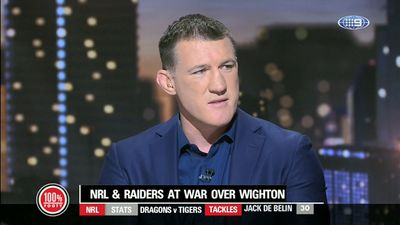 Paul Gallen rips NRL for inconsistency following Jack Wighton's 10-week ban