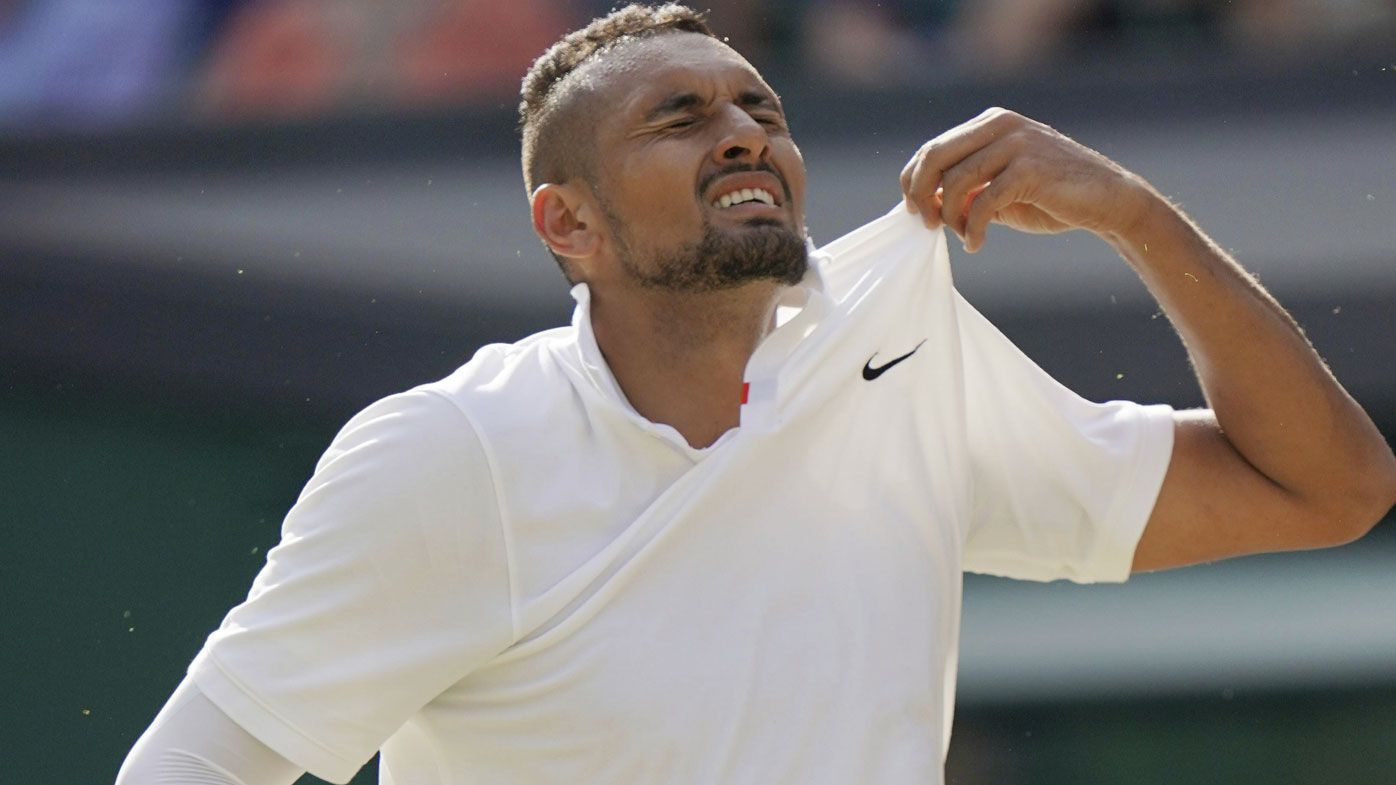Nick Kyrgios concedes he doesn't have the desire to win a Grand Slam