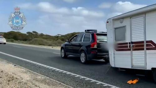 WA border police chase
