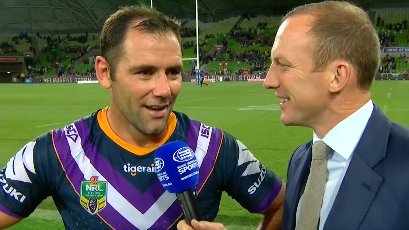 Melbourne Storm beat North Queensland Cowboys but Cameron Smith surprised by refereeing