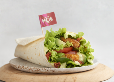 Nando's Great Pretender plant based wrap