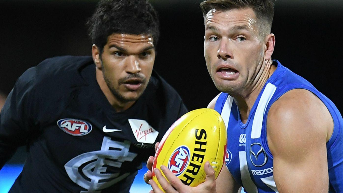 AFL: North Melbourne thrashes Carlton, Ben Brown gets five goals