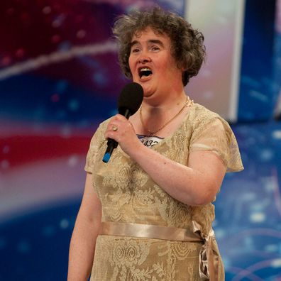 Susan Boyle auditions for Britain's Got Talent in 2009.