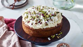 Mum's spiced carrot cake