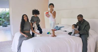 Kim Kardashian, Kanye West, North West, Saint West, Chicago West in Vogue