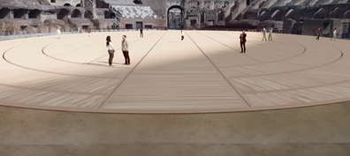 Rome's Colosseum amphitheatre redesigned by architects