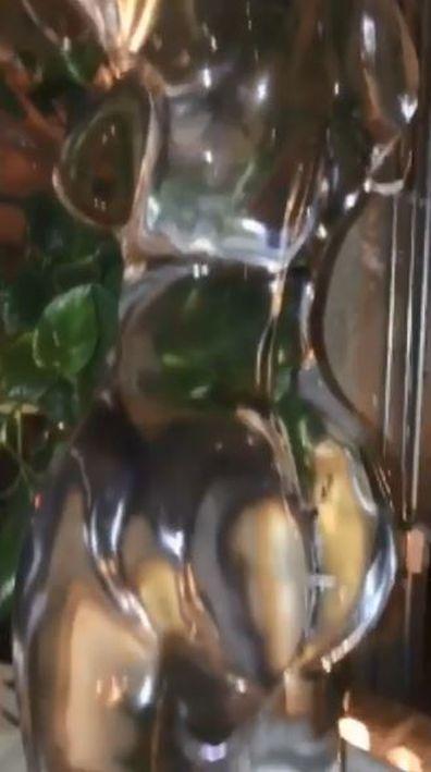Kylie Jenner, Travis Scott, birthday present, ice sculpture, party