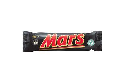 Mars Bar: 1020kj/244 calories