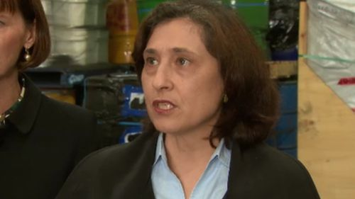 Ms D'Ambrosio said the problem requires longer term solutions. (9NEWS)