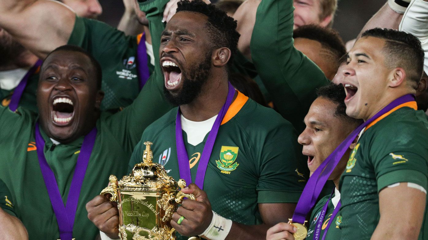 Springboks captain Siya Kolisi's awesome speech after South Africa win Rugby World Cup