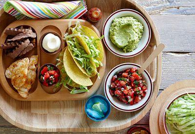 Taco platter