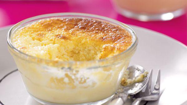 Lemon surprise puddings