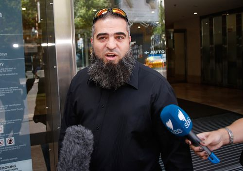 Hamdi Alqudsi outside the Downing Centre Local Court on November 21, 2014 in Sydney, Australia.
