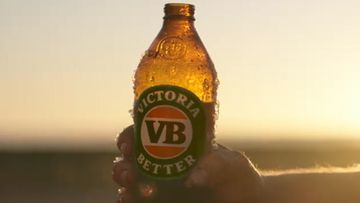 For a hard earned thirst, you need a big cold beer, and the best cold beer was Victoria