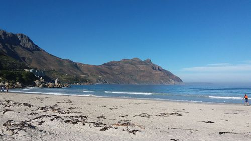 The beach in Cape Town where Laura's mother spread her ashes. (Supplied)