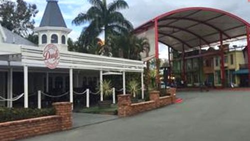 Dreamworld is a virtual ghost town since the 2016 tragedy. Picture: 9NEWS
