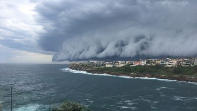 Storms over South Coogee. (Supplied, Jeremy Martin)