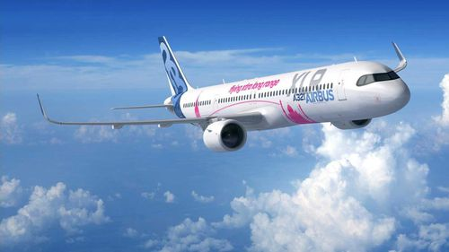 """Aircraft manufacturer Airbus has unveiled designs for the A321XLR -- an aircraft it claims will be the world's """"longest range single-aisle airliner."""""""