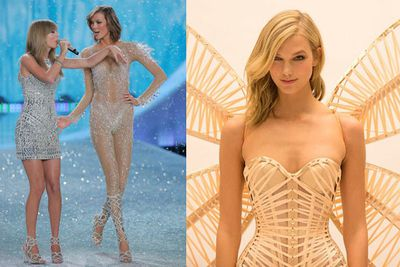 Taylor's BFF and New York flatmate Karlie will strut her stuff once again. Here's a peek at her dragonfly wings!<br/><br/>The VS Fashion Show takes place in London on December 2. It'll screen on December 11 at 7.30pm on FOX8, Foxtel.