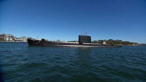 The public can climb aboard the rejuvenated HMAS Onslow from Saturday. (9NEWS)