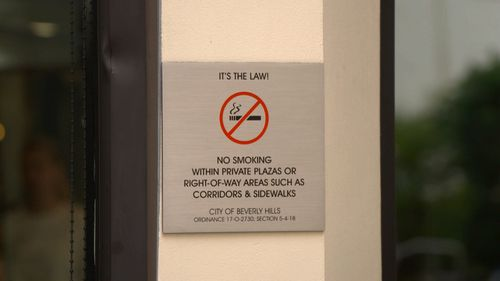 190601 News USA California Beverly Hills tobacco smoking bans Health World