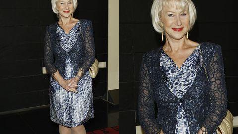 Has Helen Mirren given up on the MILF look?
