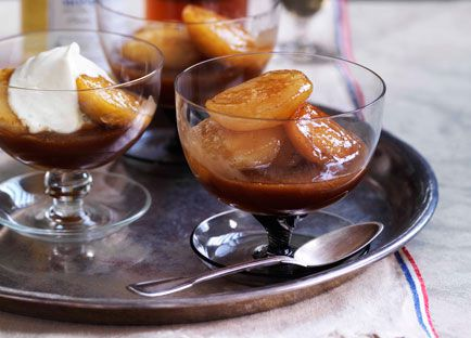 Apples with Calvados