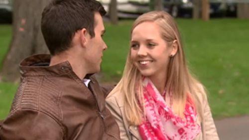 Mr Pentingill's girlfriend, Amy Savage. (9NEWS)