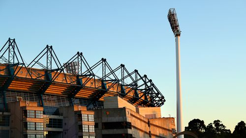 MELBOURNE, AUSTRALIA - DECEMBER 26: A general view of the MCG as sport with fans returns to Melbourne, ahead of day one of the Second Test match between Australia and India at Melbourne Cricket Ground on December 26, 2020 in Melbourne, Australia. (Photo by Kelly Defina/Getty Images)