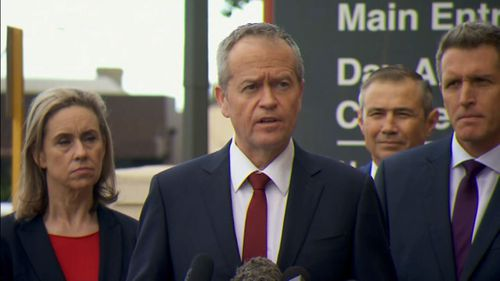 Opposition Leader Bill Shorten supported the law changes. Picture: 9NEWS
