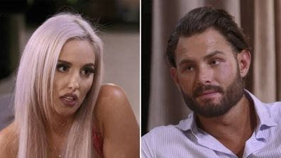 Elizabeth and Sam on MAFS