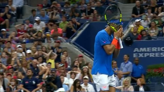 Nadal falls, Djokovic advances at US Open