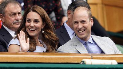 Duke and Duchess of Cambridge, Men's Singles Final 2019