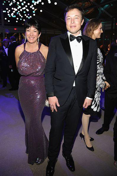 Elon Musk, Ghislaine Maxwell