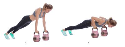 <strong>Kettlebell push-up</strong>