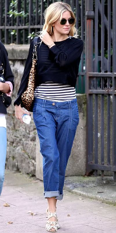 Sienna Miller with a Kate Spade tote in London, 2012