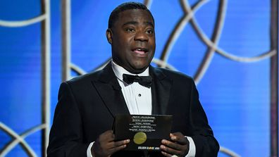 Tracy Morgan at the 2021 Golden Globes