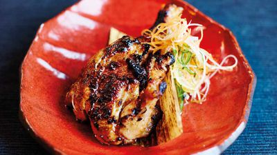 "<strong>Recipe: <a href=""http://kitchen.nine.com.au/2017/08/31/12/49/miso-grilled-baby-chicken-with-lemon-garlic-chilli-dipper"" target=""_top"" draggable=""false"">Miso-grilled baby chicken</a></strong>"