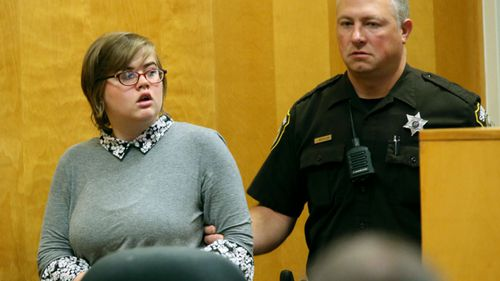 Morgan Geyser's lawyers have argued she suffers from schizophrenia and psychotic spectrum disorder, making her prone to delusions and paranoid beliefs. (AP)